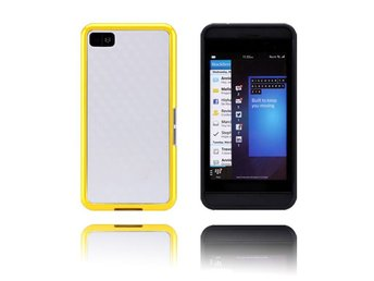 EdgeWhite (Gul) BlackBerry Z10 Skal