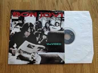 Bon Jovi Cross Road the videos Laserdisc