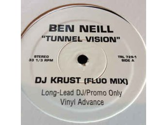 "Ben Neill titel* Tunnel Vision* Breakbeat, House, Drum n Bass 12"", Promo"
