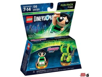 Lego Dimensions Power Puff Girls Fun Pack 71343