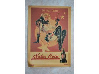 Zap That Thirst Nuka Cola m. Astronaut/Zapper Fallout Poster 30*42cm Ny