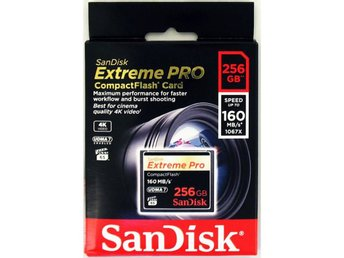SANDISK CF Extreme PRO 256GB 160 MB/s