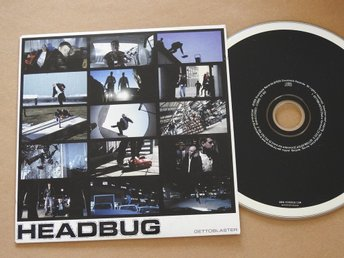 Headbug - Gettoblaster CD Single 1999