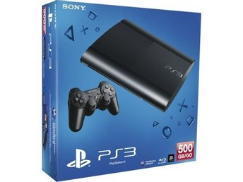 PlayStation 3 super slim 500 GB with super games
