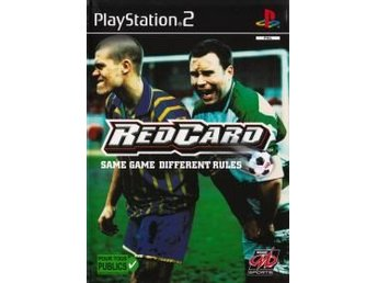 PS2 - Red Card (Ej bok) (Beg)