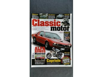Classic Motor nr 1 2006: Capriolo 75, Isetta, Alfa Romeo Montreal, Ford Zephyr