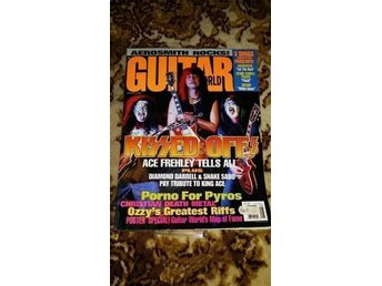 KISS Ace-reportage i tidningen Guitar world