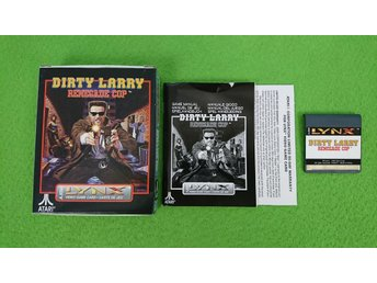 Dirty Larry Renegade Cop KOMPLETT Atari Lynx