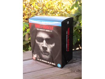 SONS OF ANARCHY - Säsong 1- 7 - BLU-RAY  BOX - NY