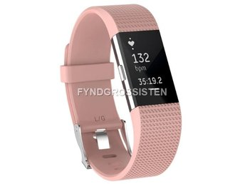 Armband Fitbit Charge 2 Large Light Pink Fri Frakt Ny