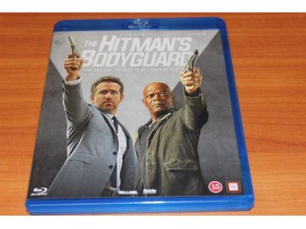 Bluray-film: The Hitman´s Bodyguard (Ryan Reynolds, Samuel L. Jackson)