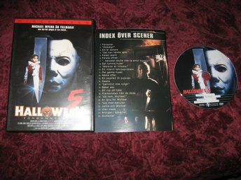 HALLOWEEN 5 FÖRBANNELSEN (DANIELLE HARRIS,DONALD PLEASENCE) DVD