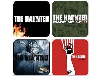 THE HAUNTED COASTERS - Set of 4