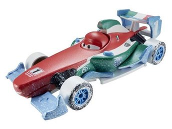 Disney Pixar Cars Bilar Mcqueen metall -  Francesco Ice Racers NY