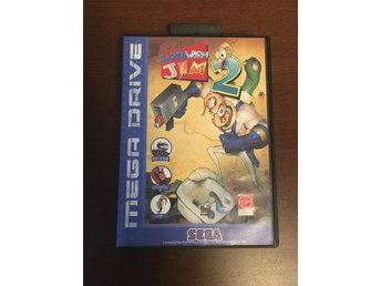 "SEGA Mega Drive ""Earth worm Jim 2"""