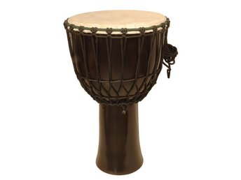 31 Cm Hog Kvalitet Solid Trä Djembe! Traditionell Rep Design