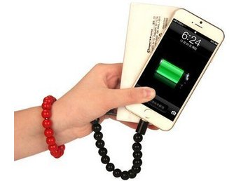 Wearable Bracelet Charging Line iPhone 5/6/7 - Red