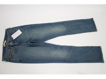 NY! LEVIS 514 Ljusblå Jeans, Relaxed Straight stl: W27 L32