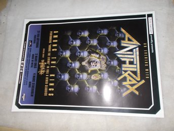 Anthrax turnéposter