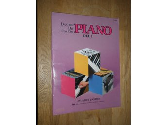 PIANO del 1 av James Bastien