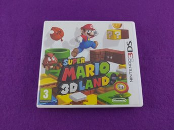 Nintendo 3DS Super Mario 3D World Komplett Fint Skick