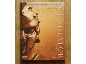 DVD - Gladiator. Extended 3 disc special edition.