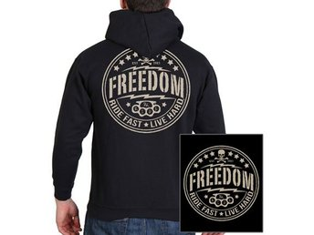 Skull Freedom Sweat Hoodie XL