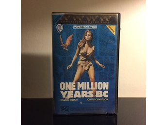One million years B.C. - VHS Warner original - Raquel Welsh - Hammer