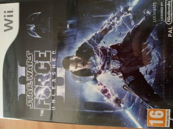 Nintendo Wii - Star Wars The Force Unleashed II - fint beg skick !