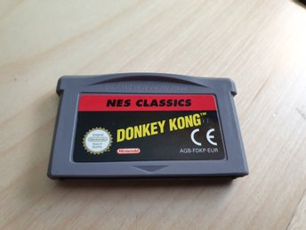 Donkey Kong - NES Classic Nintendo Game Boy Advance