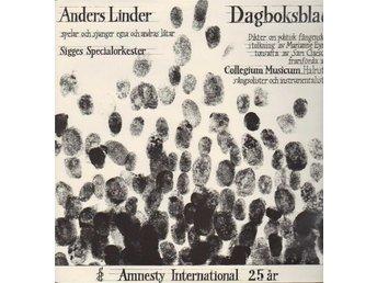 Anders Linder - Amnesty International 25 År LP - Holmsund - Anders Linder - Amnesty International 25 År LP - Holmsund