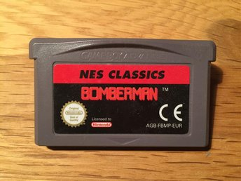 Bomberman - Gameboy Advance - NES Classics - EUR