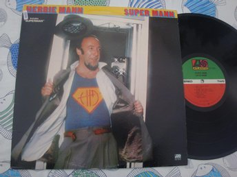 HERBIE MANN - SUPER MANN LP 1978