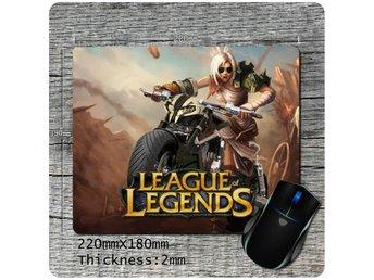 League Of Legends Musmatta - Spelmusmatta - Hög Precision - åstorp - League Of Legends Musmatta - Spelmusmatta - Hög Precision - åstorp