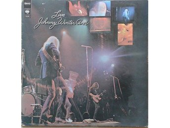 Johnny Winter And title*  Live Johnny Winter And* Blues, Rock, Electric Blues LP