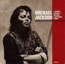 "Vinyl-singel Michael Jackson ""I just can't stop loving you"""