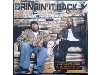 "Planet Asia & 427 title* Bringin' It Back* 90's Hip Hop 12"" US"