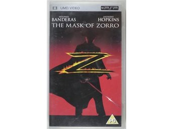 Mask Of Zorro (Ny och inplastad) - UMD DVD - Playstation PSP
