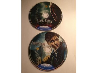 Harry Potter And The Deathly Hallows Parts 1 and 2 - Begagnad Blu-Ray