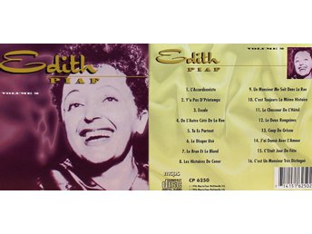 Edith Piaf, Vol 2 (CD)