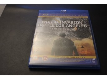 Bluray-film: World Invasion: Battle Los Angeles (Mastered in 4K)