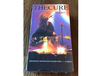 The Cure, Trilogy, Dubbel-VHS - inplastad