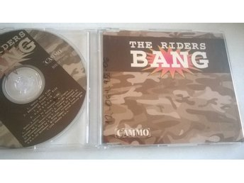 The Riders - Bang, CD, Maxi-Single, rare!