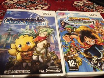 Final Fantasy Fables: Chocobo's Dungeon+One Piece: Unlimited Cruise 1