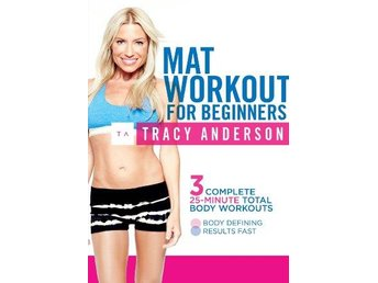 Tracy Anderson - Mat Workout For Beginners (DVD) - Trollhättan - Tracy Anderson - Mat Workout For Beginners (DVD) - Trollhättan