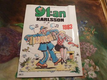 91:AN KARLSSON 1983, TIDNING - Anderstorp - 91:AN KARLSSON 1983, TIDNING - Anderstorp