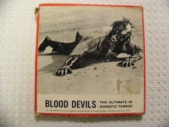 Blood Devils-A Terrifying Monster At Large On Blood Island-Super 8-Colour