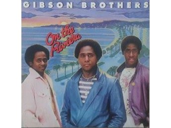 Gibson Brothers title* On The Riviera* Disco, Europop LP Scandinavia