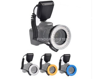 LED Blixt RF-550D Macro 48 pieces LED Ring Flash Light Fri F