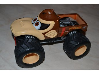 Donkey Kong Monster Truck Nintendo Hot Wheels/Monster Jam OK Skick